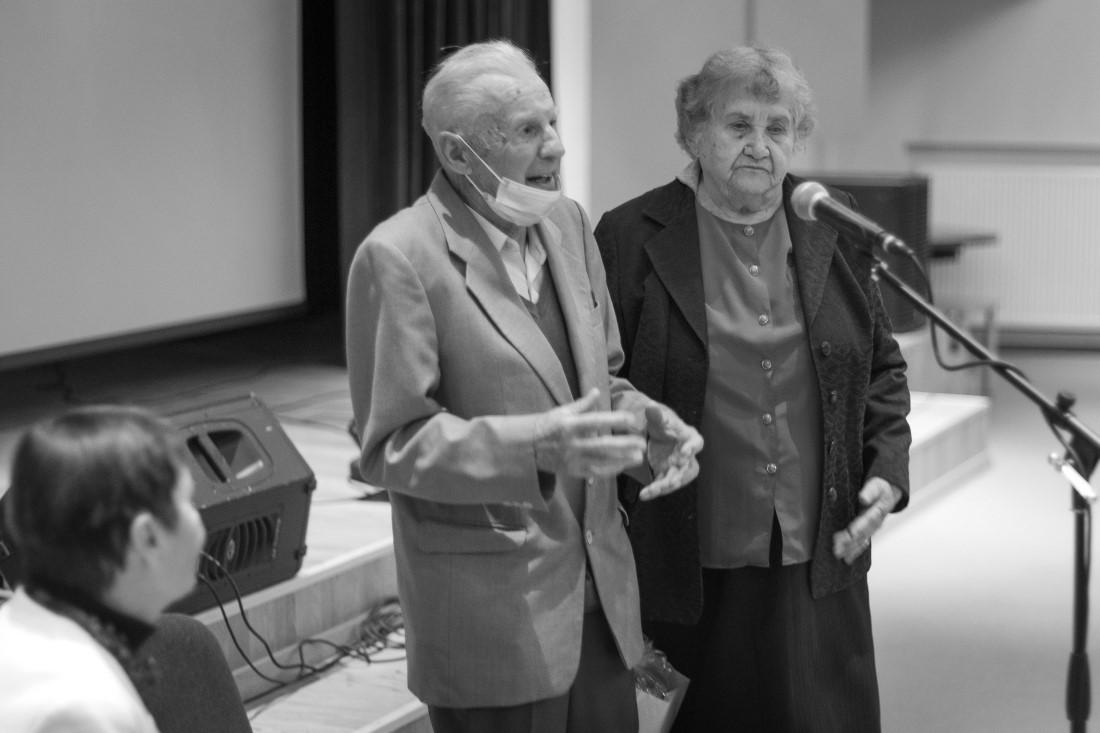 Antanas Stauskas su žmona Irena